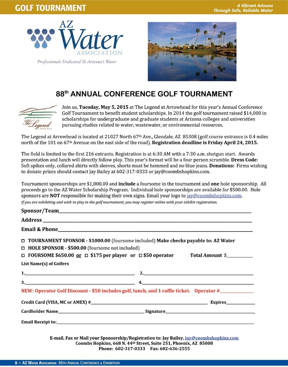Water Association 88th