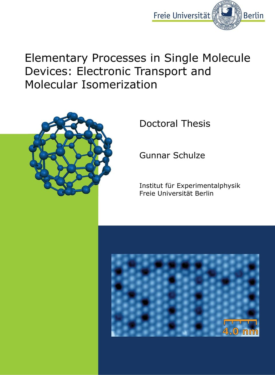 Isomerization Doctoral Thesis Gunnar Schulze