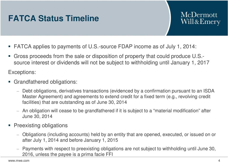 -source FDAP income as of July 1, 2014: Gross proceeds from the sale or disposition of property that could produce U.S.
