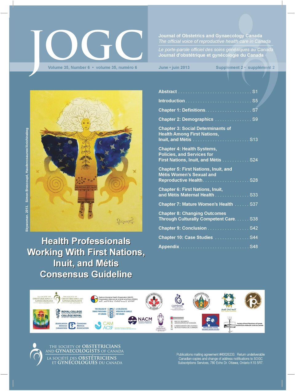 Simon Brascoupé, Haudenosaunee/Anishinabeg Health Professionals Working With First Nations, Inuit, and Métis Consensus Guideline Chapter 3: Social Determinants of Health Among First Nations, Inuit,