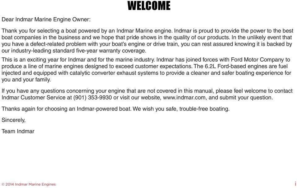 Indmar maintenance manual array welcome dear indmar marine engine owner pdf rh docplayer net fandeluxe Image collections