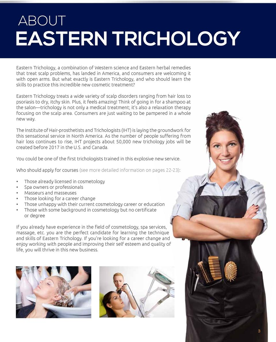 Eastern Trichology treats a wide variety of scalp disorders ranging from hair loss to psoriasis to dry, itchy skin. Plus, it feels amazing!