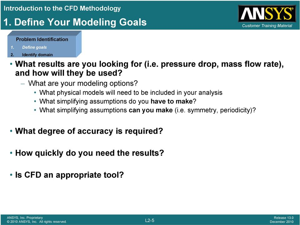 What physical models will need to be included in your analysis What simplifying assumptions do you have to make?