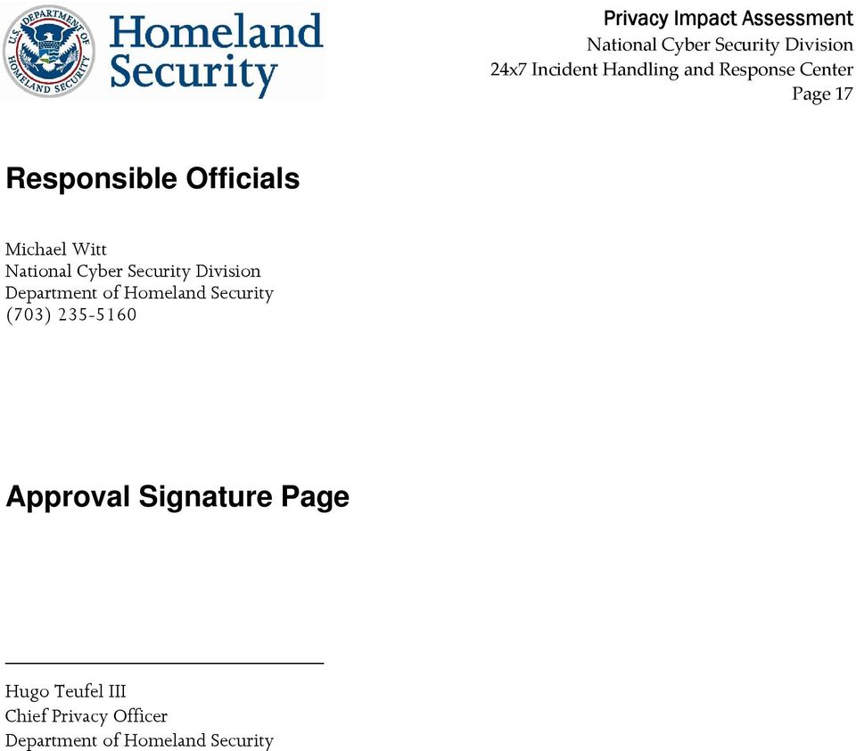 235-5160 Approval Signature Page Hugo Teufel