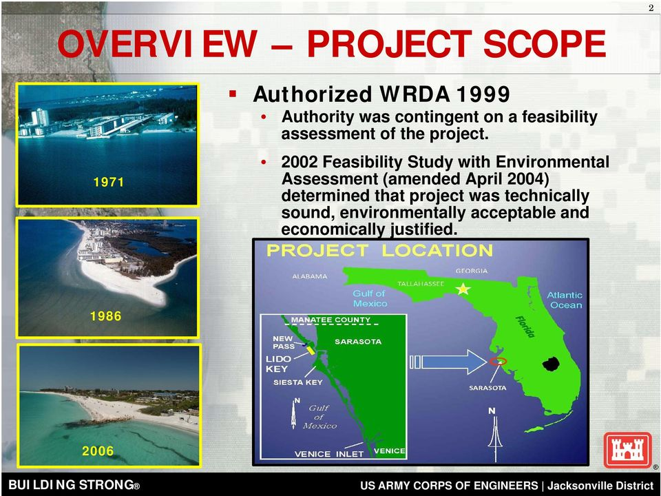 2002 Feasibility Study with Environmental Assessment (amended April 2004)