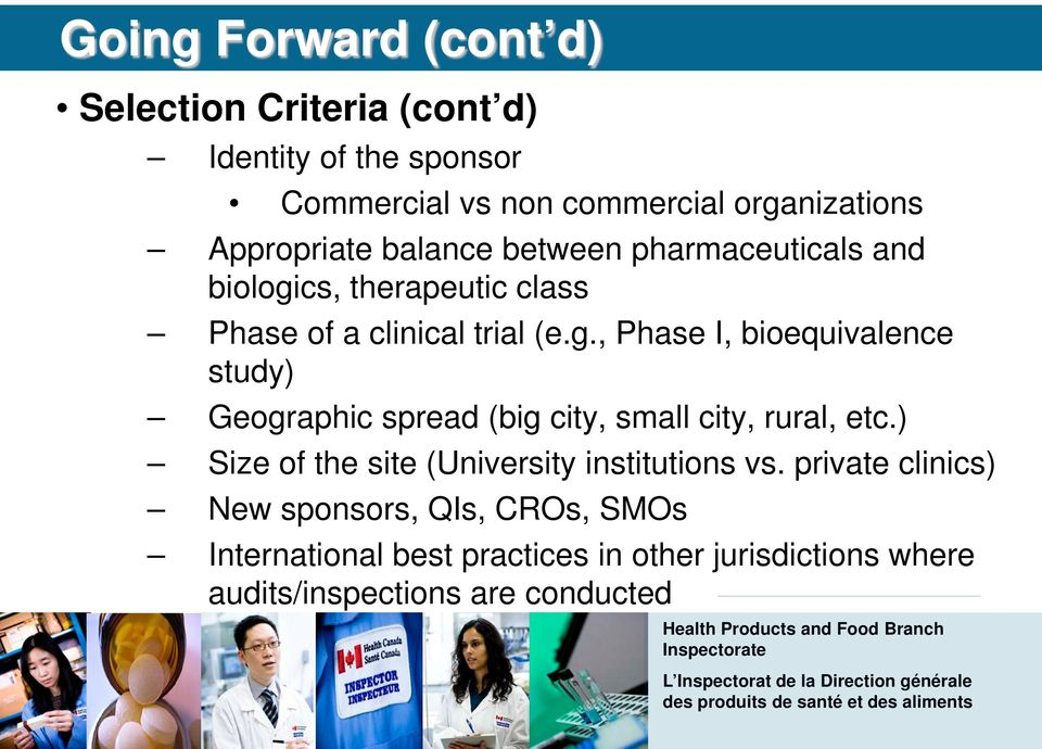 cs, therapeutic class Phase of a clinical trial (e.g.