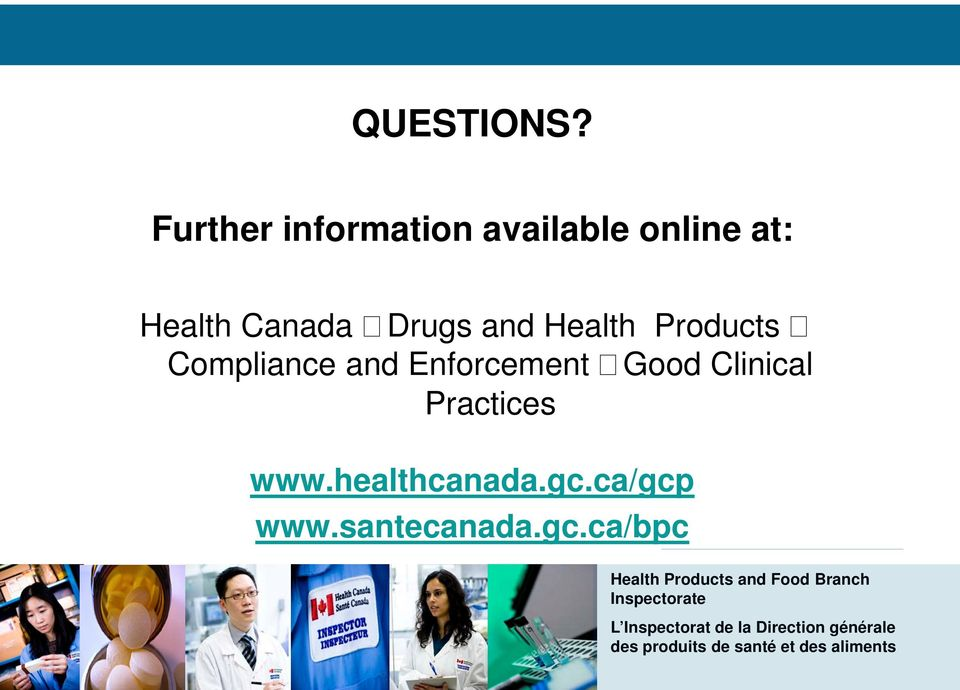 Canada Drugs and Health Products Compliance and