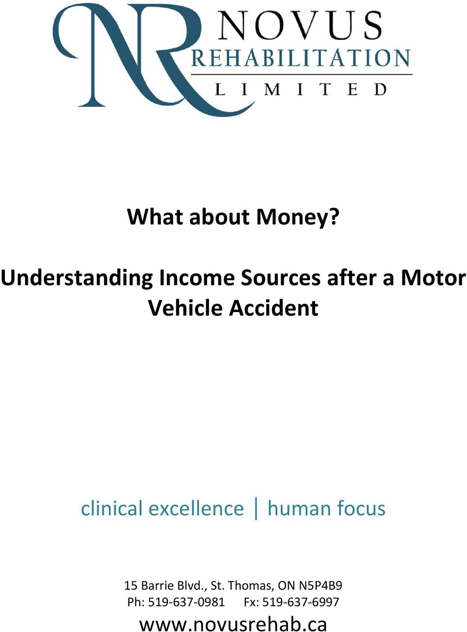 Vehicle Accident clinical excellence human focus