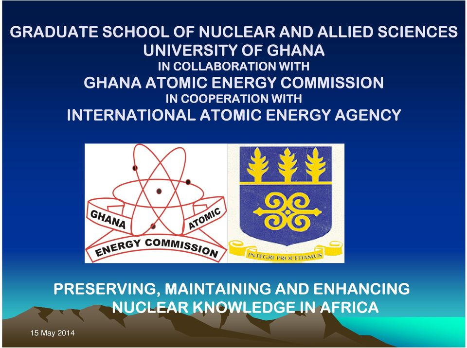 COMMISSION IN COOPERATION WITH INTERNATIONAL ATOMIC ENERGY