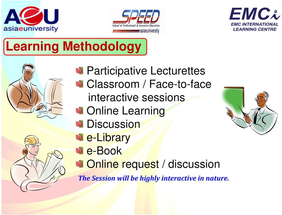 Learning Discussion e-library e-book Online request /