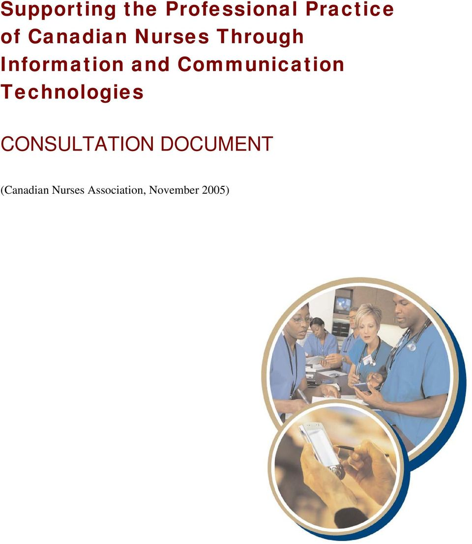 Communication Technologies CONSULTATION