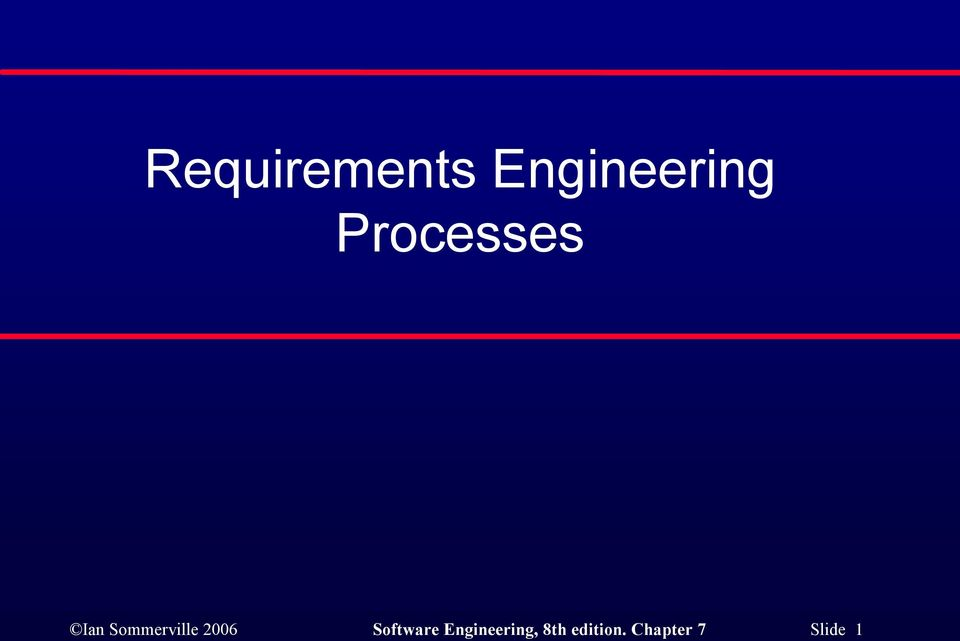 2006 Software Engineering,