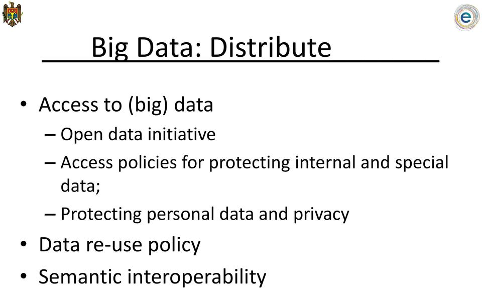 internal and special data; Protecting personal