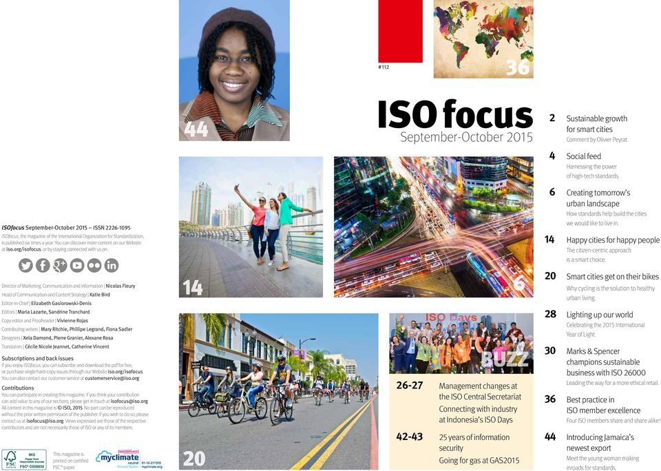 You can discover more content on our Website at iso.