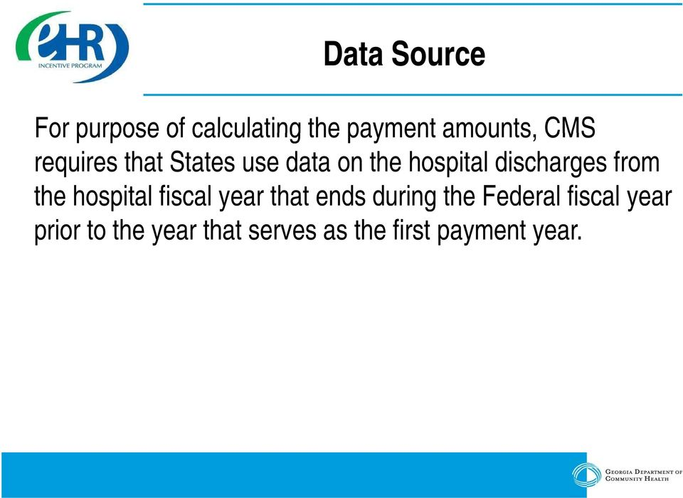 from the hospital fiscal year that ends during the Federal