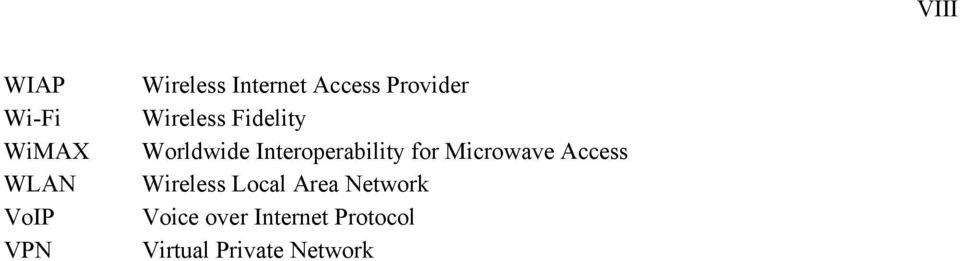 Interoperability for Microwave Access Wireless Local