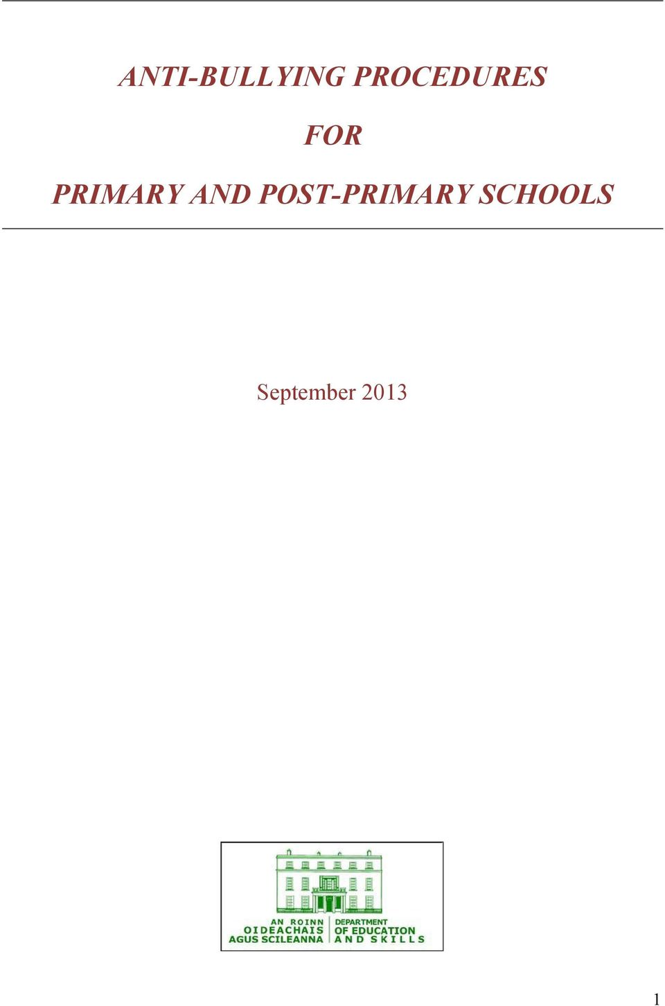 PRIMARY AND