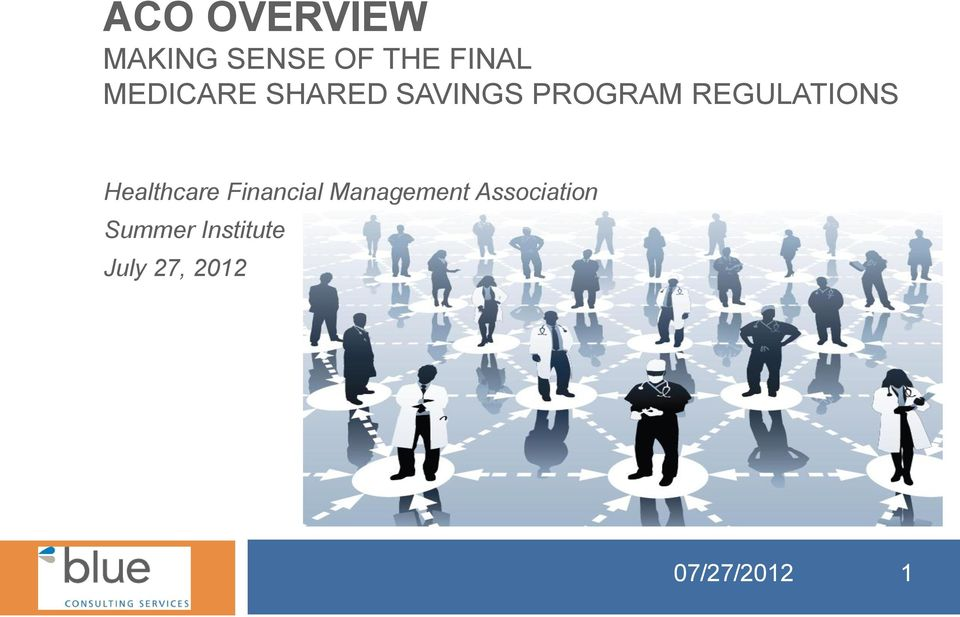 REGULATIONS Healthcare Financial