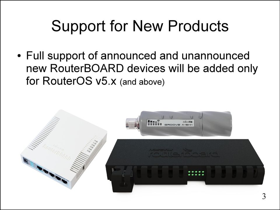 unannounced new RouterBOARD devices