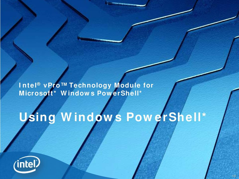 Windows PowerShell*