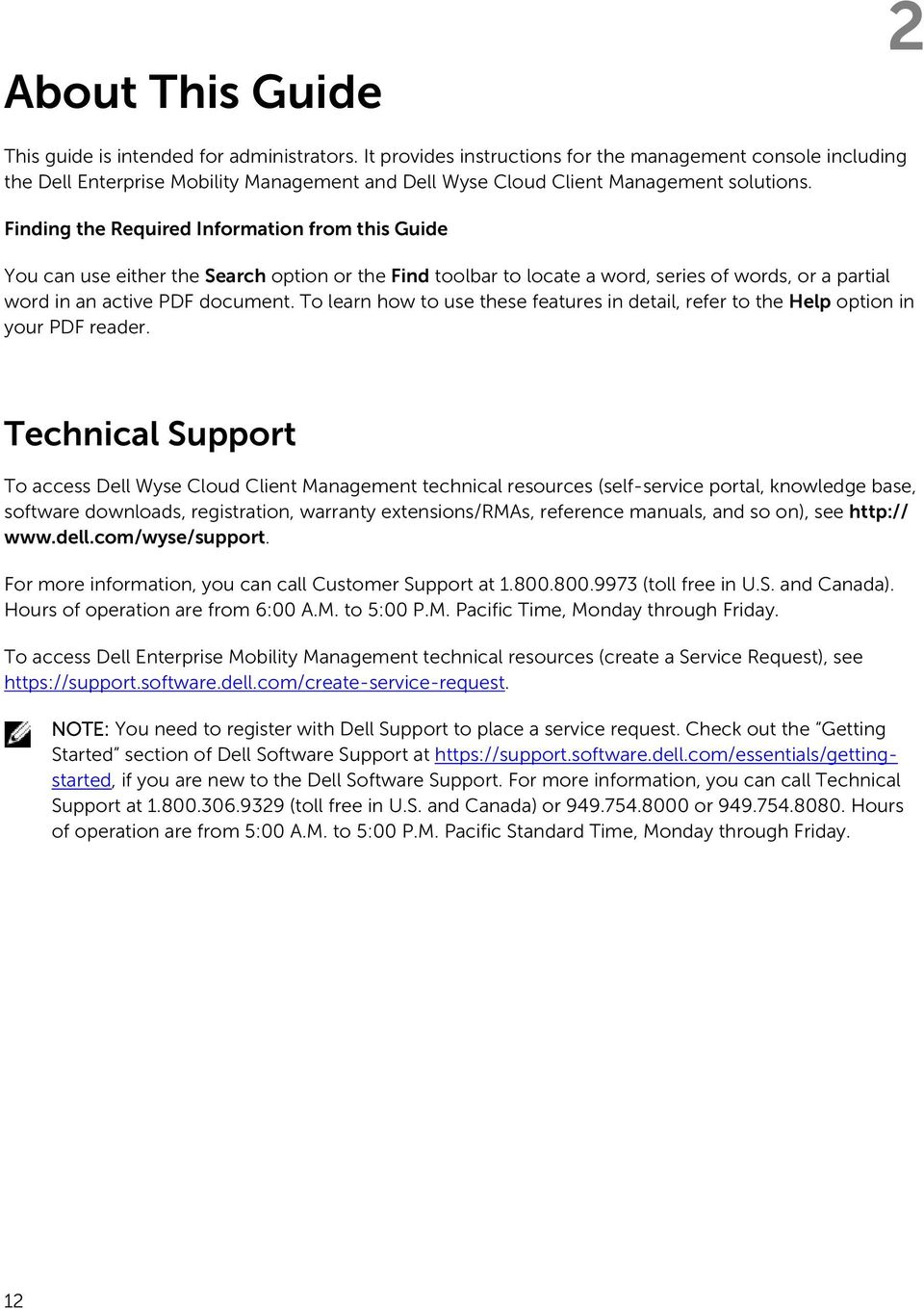 Dell Management Console Administrator s Guide Version R10