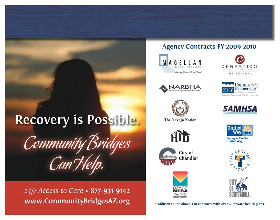 The Navajo Nation Community Bridges Can Help.