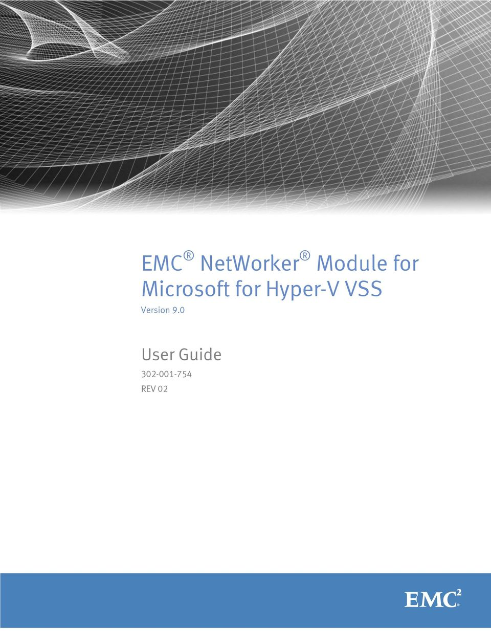 Hyper-V VSS Version 9.