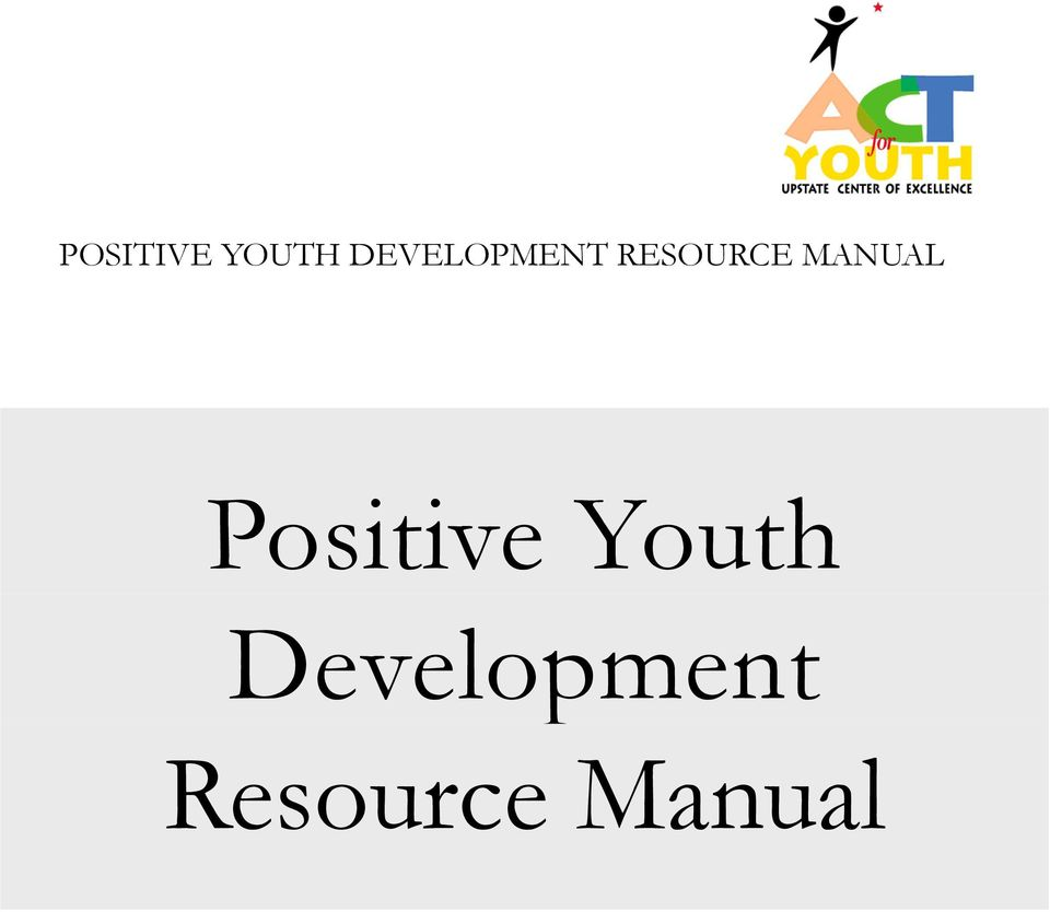 MANUAL Positive Youth