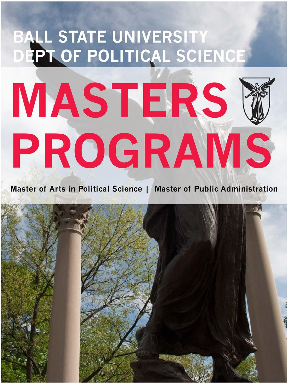 PROGRAMS Master of Arts in
