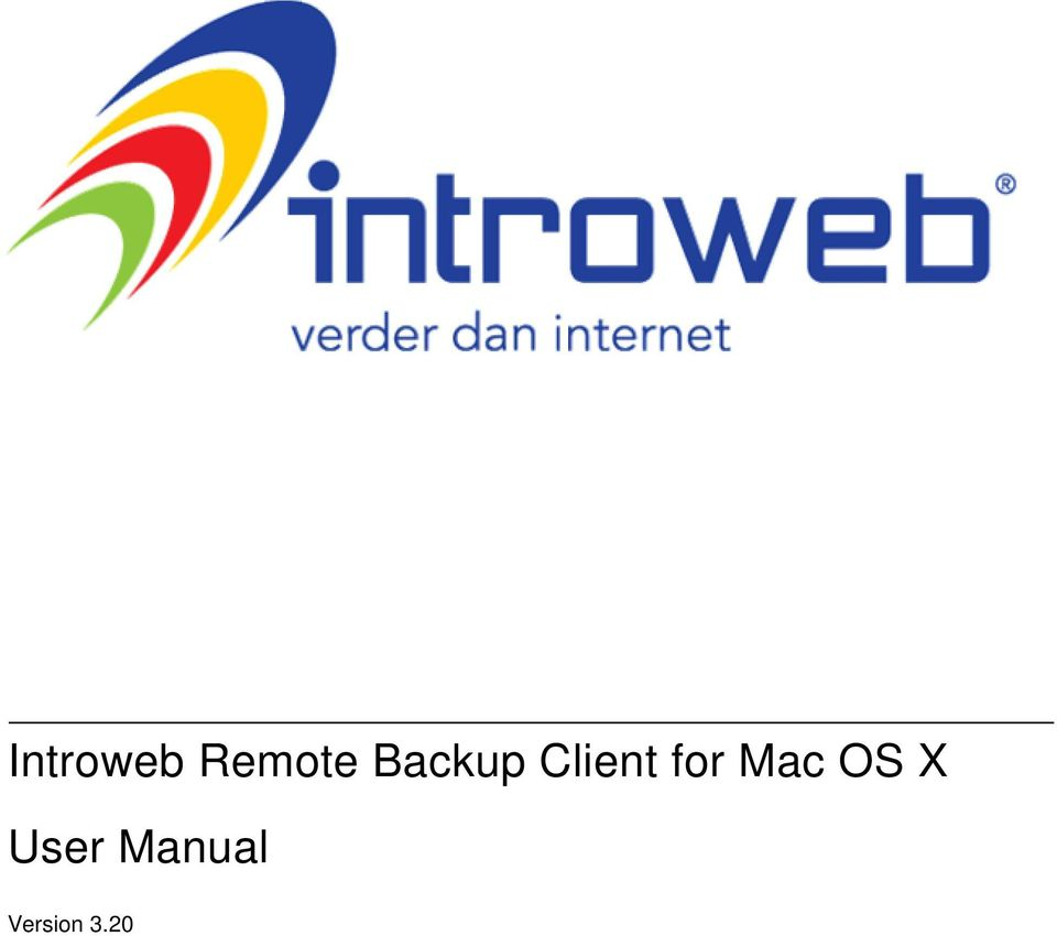 for Mac OS X