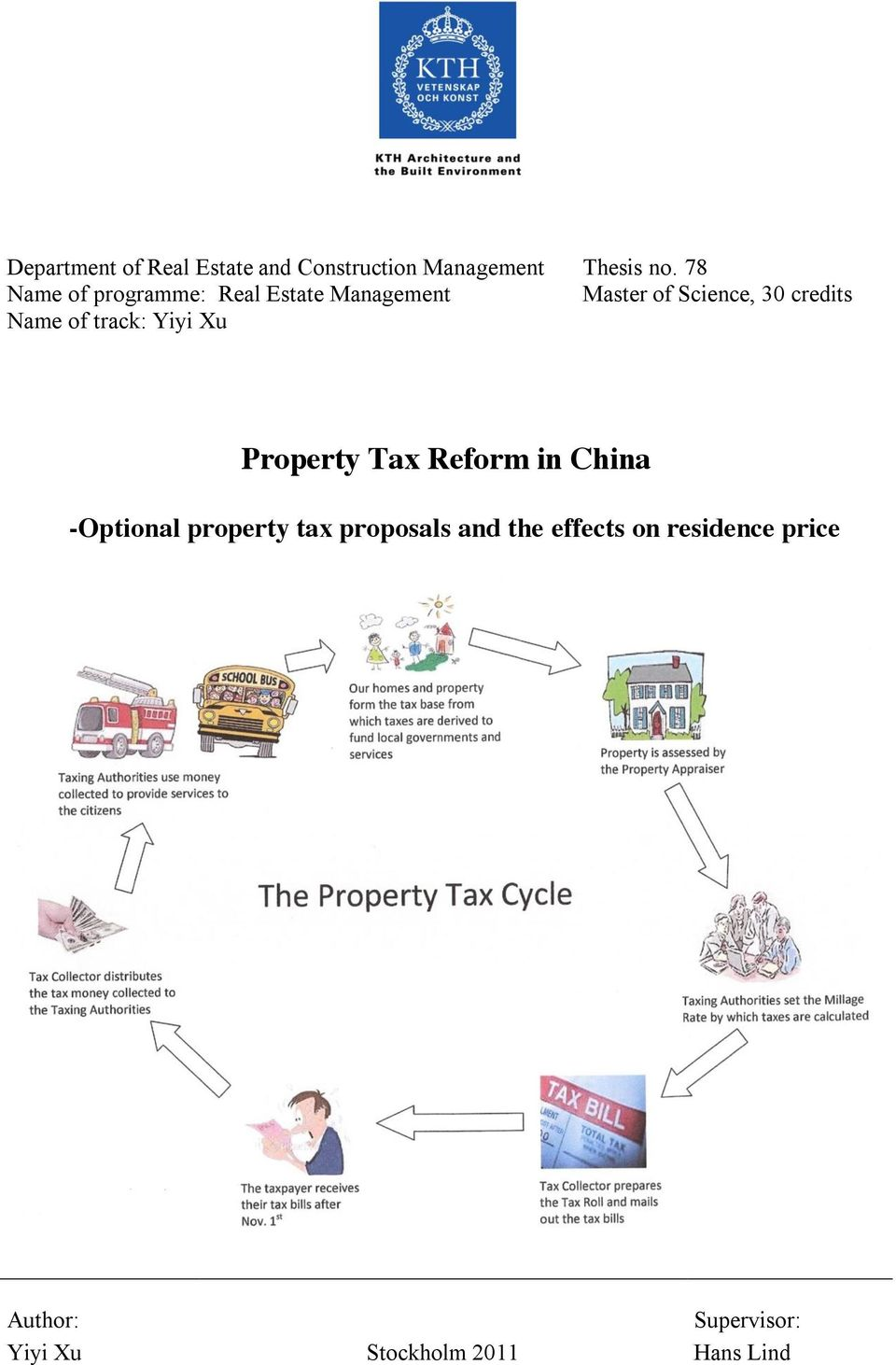 Name of track: Yiyi Xu Property Tax Reform in China -Optional property tax