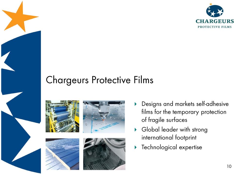 protection of fragile surfaces Global leader