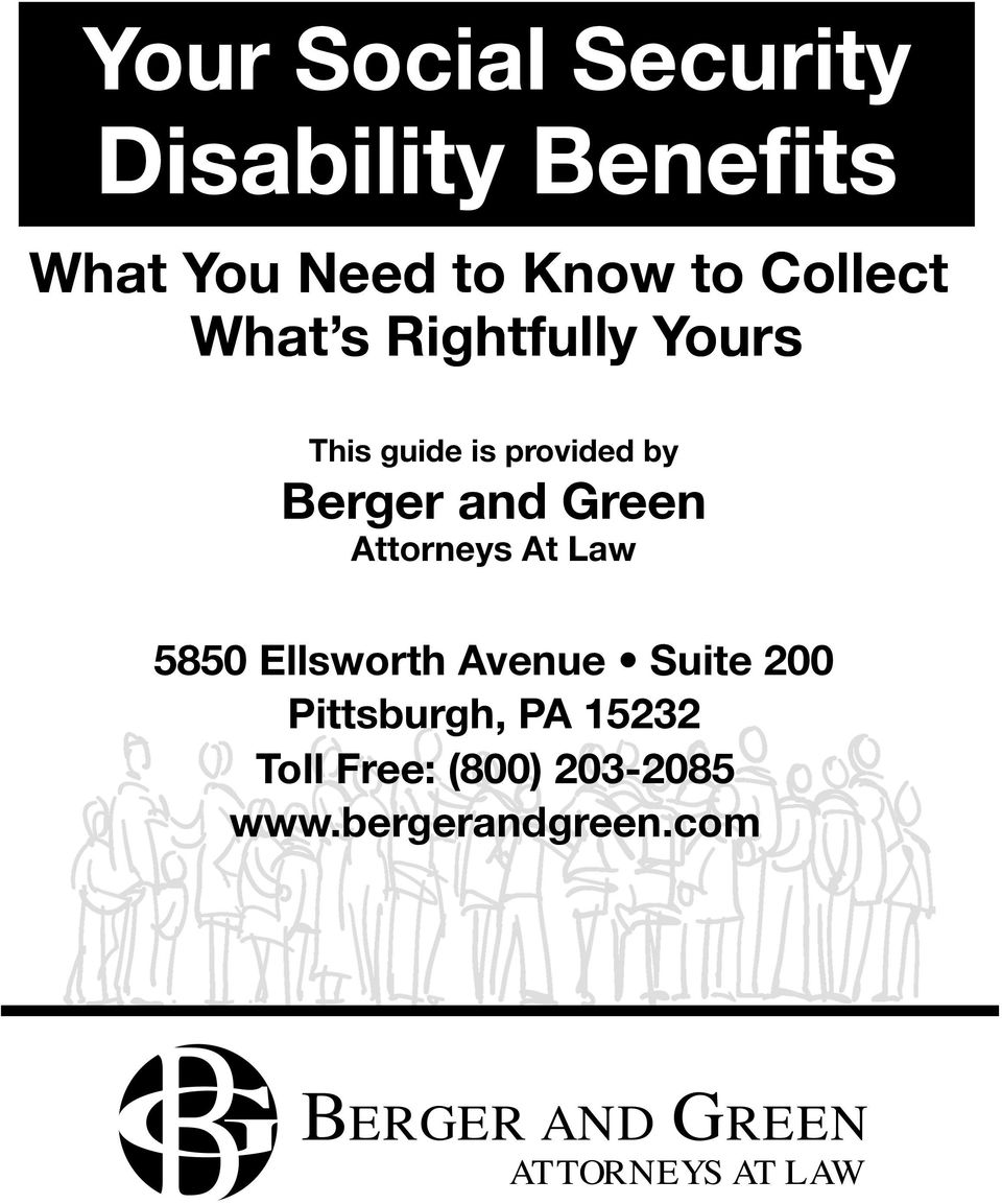 Attorneys At Law 5850 Ellsworth Avenue Suite 200 Pittsburgh, PA 15232