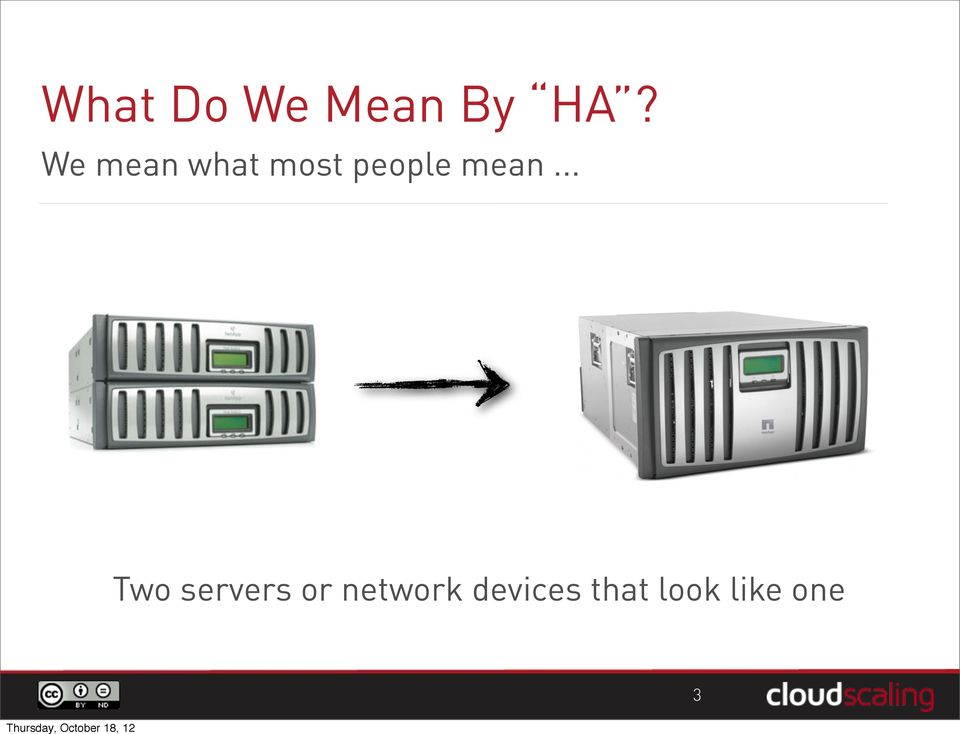 mean... Two servers or