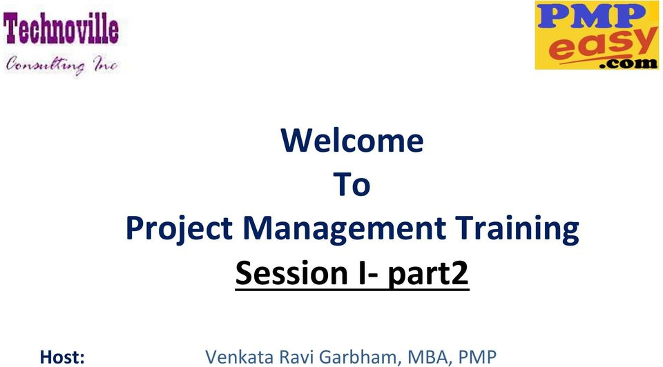 Session I- part2 Host: