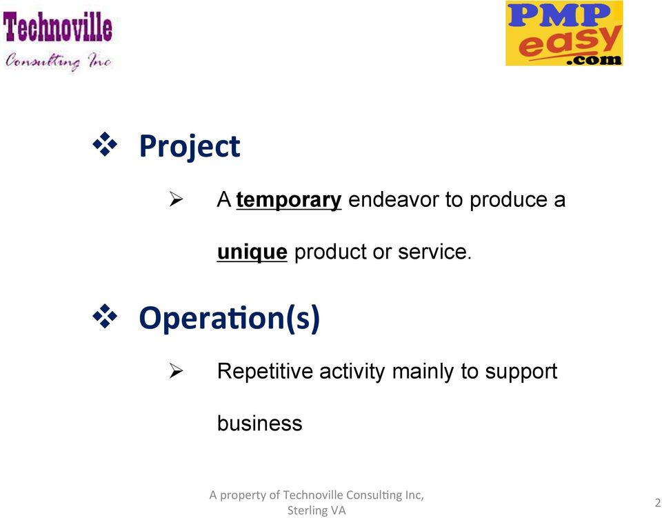 product or service.