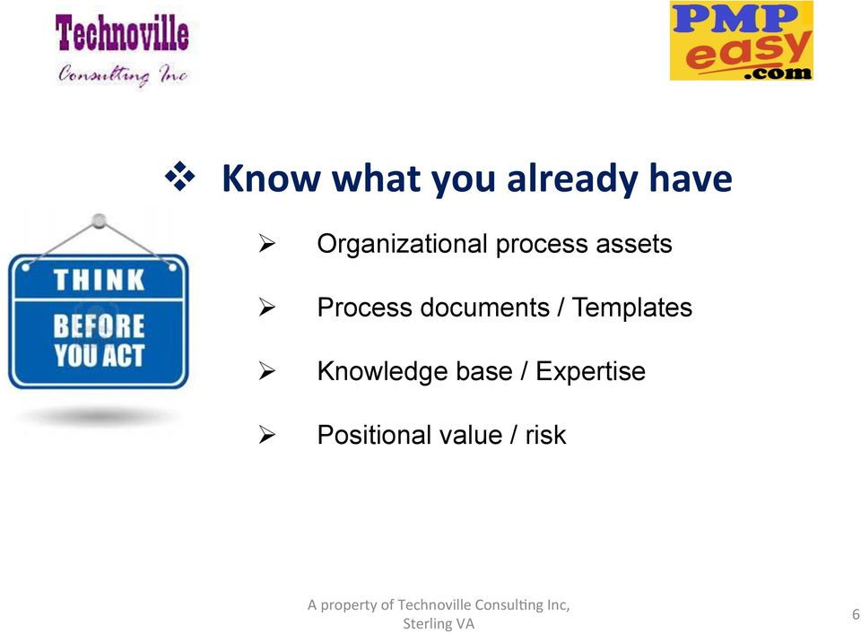 Process documents / Templates