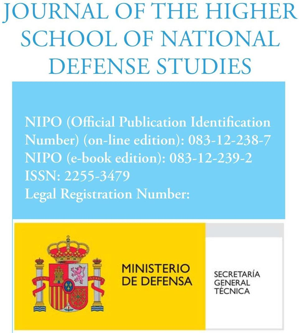 Number) (on-line edition): 083-12-238-7 NIPO (e-book