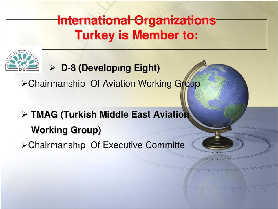 Aviation Working Group TMAG (Turkish( Middle East