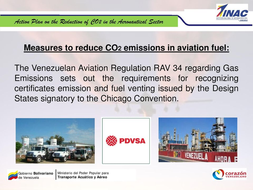 requirements for recognizing certificates emission and fuel
