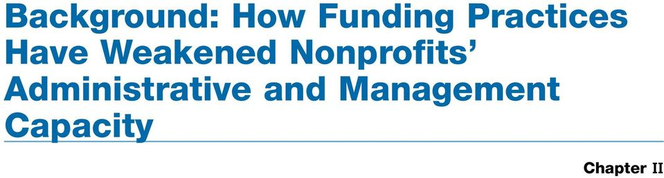 Nonprofits Administrative