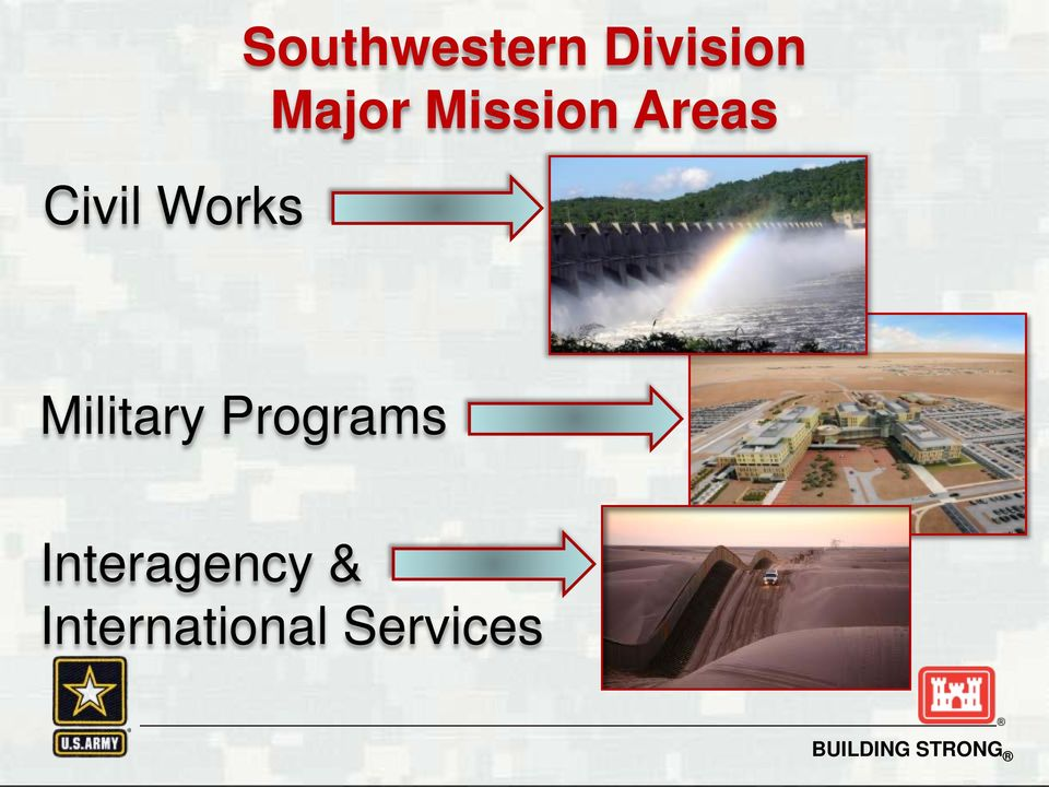 Areas Military Programs