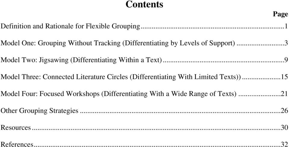 ..3 Model Two: Jigsawing (Differentiating Within a Text).