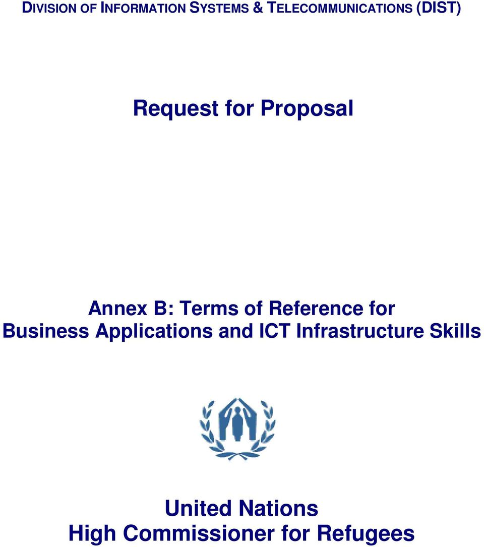 Reference for Business Applications and ICT