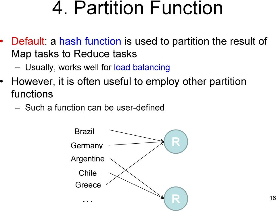 balancing However, it is often useful to employ other partition