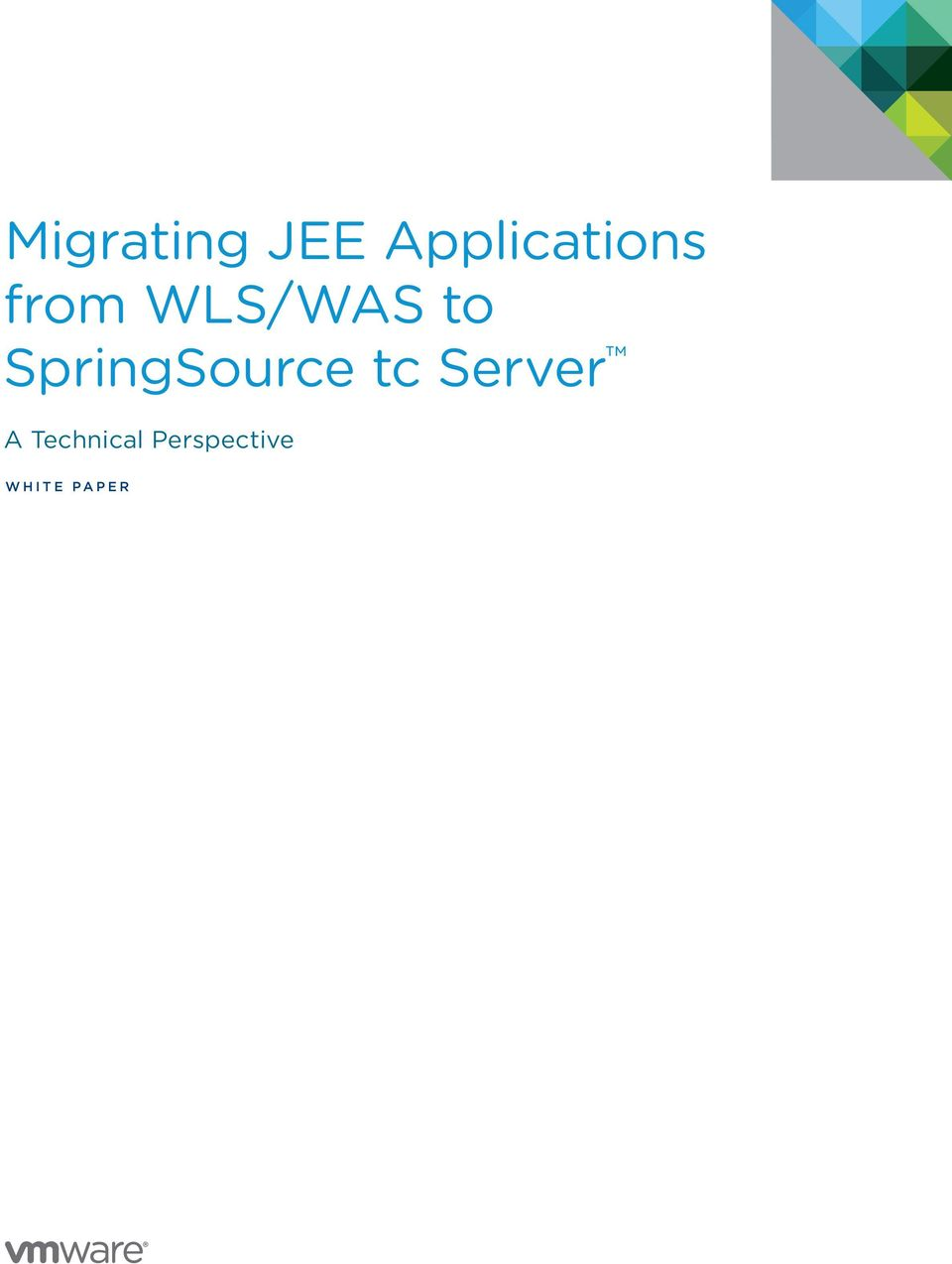 SpringSource tc Server A