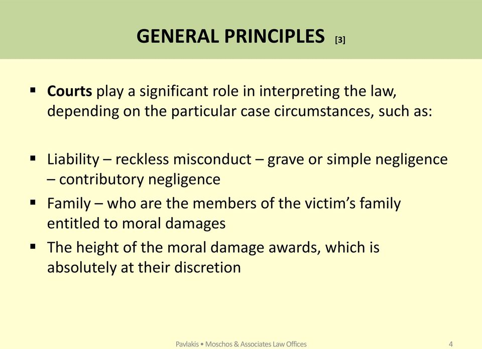 contributory negligence Family who are the members of the victim s family entitled to moral damages The