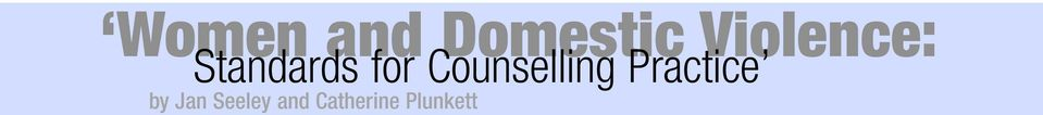 Counselling Practice by