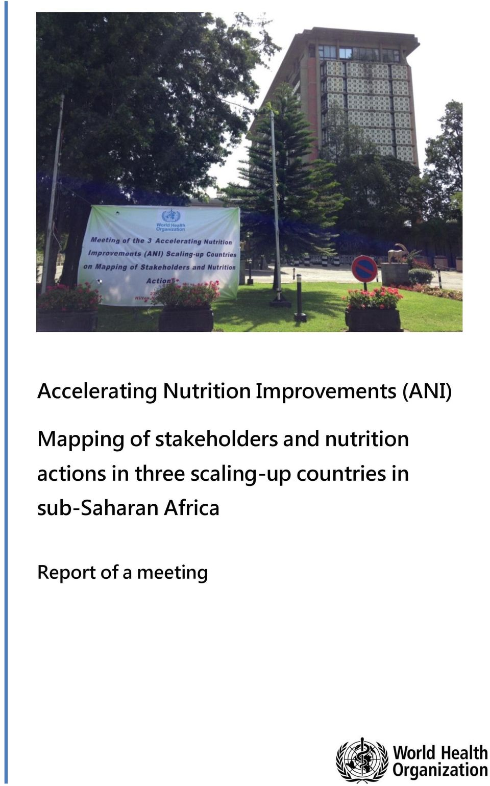 nutrition actions in three scaling-up