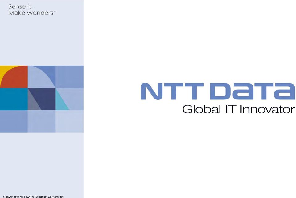 Copyright NTT DATA
